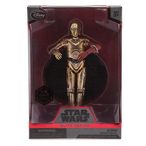 Звездные войны Die Cast фигурка C-3PO — Star Wars C-3PO