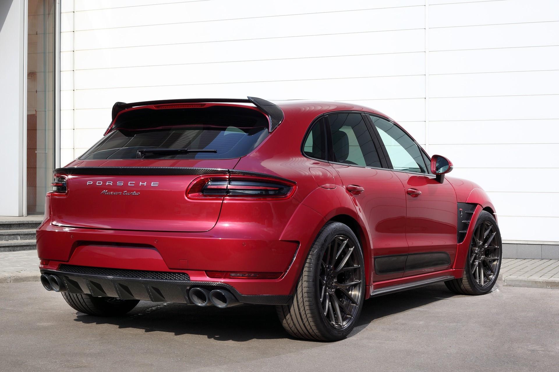 Обвес Topcar Design для Porsche Macan URSA