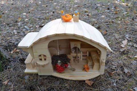 Коллекционный кукольный домик