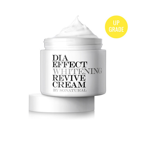 So Natural Dia Effect Whitening Revive Cream 70ml
