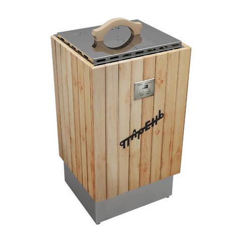Автономный электрический ВеникоЗапарник «Парень» от 0 до 1.5 кВт. (Светлое дерево)