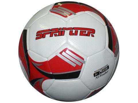 Мяч футбольный. Материал покрышки - ламинированный полиуретан. Количество панелей - 32, машинная сшивка. Материал камеры - латекс. Мяч рекомендован для игры в любых погодных условиях.
