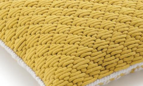 Подушка Silai Yellow - Yellow 50x50