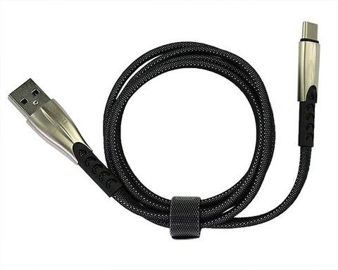 Kstati / Кабель KS-002 Type-C - USB черный | 1м