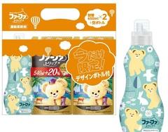 Набор Кондиционер для детского белья NS FaFa Дубай концентрированный, запасной блок, 650 мл 2шт + пустая бутылочка.