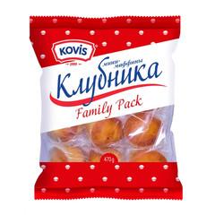 Кекс Мини-маффины Kovis с фруктово-ягодной нач. клубника, 470г