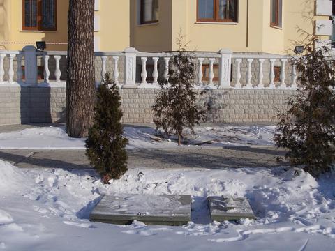 Монтаж Топас 8 зимой