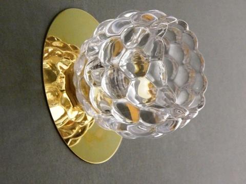Встраиваемый Светильник 2000-1-145TJ Золото с лампочкой GU5.3, 220V 35W