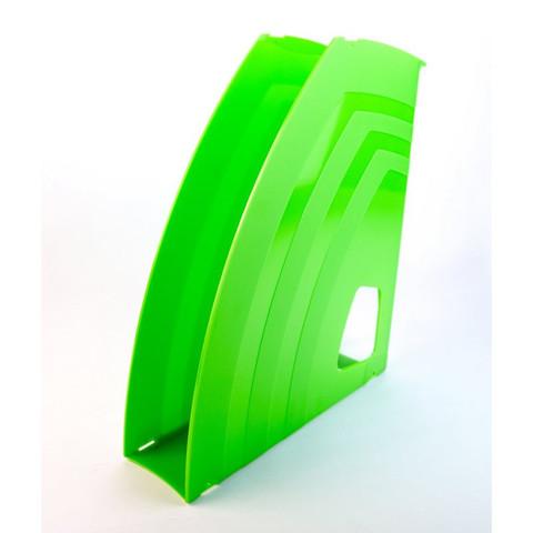Вертикальный накопитель Attache Fantasy пластиковый зеленый ширина 70 мм