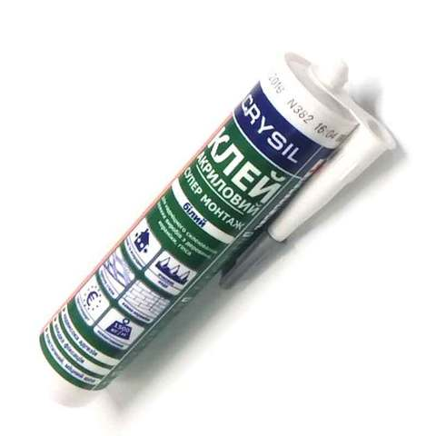 Lacrysil клей акриловый монтажный (Супер монтаж)