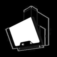 Вытяжка Maunfeld Retro Quadr 60 черный - схема