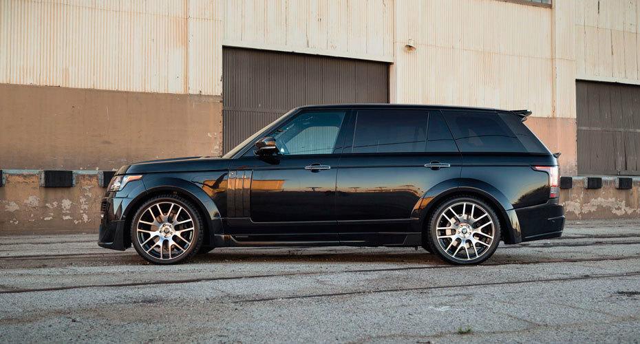 Обвес Onyx для Range Rover Vogue 4