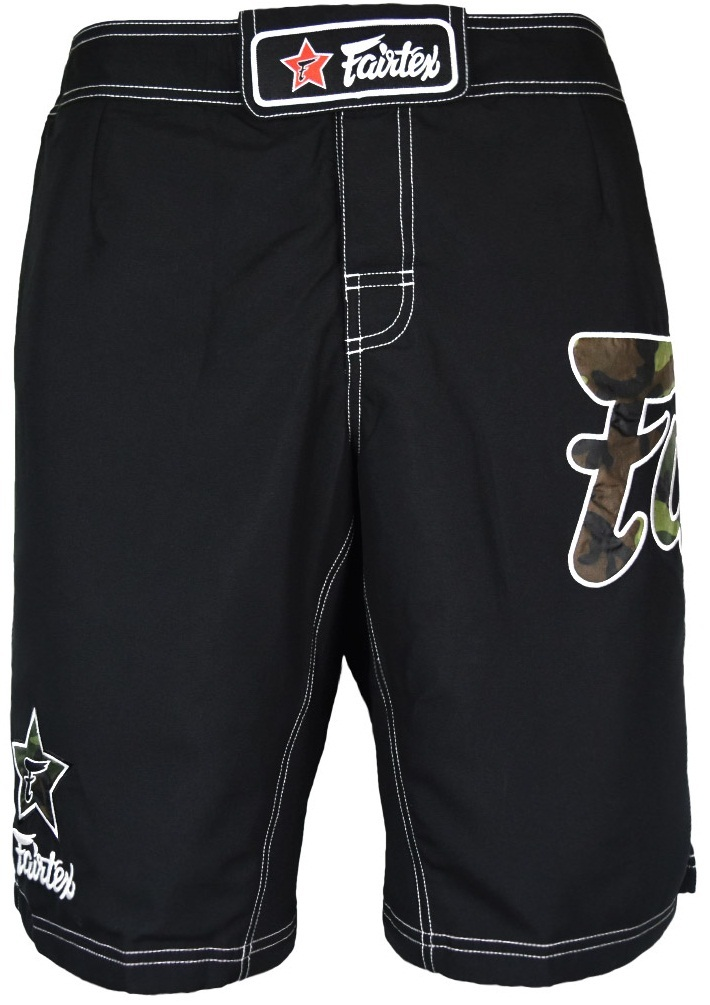 Шорты Шорты Fairtex Boardshorts AB5 Black/Camo 1.jpg