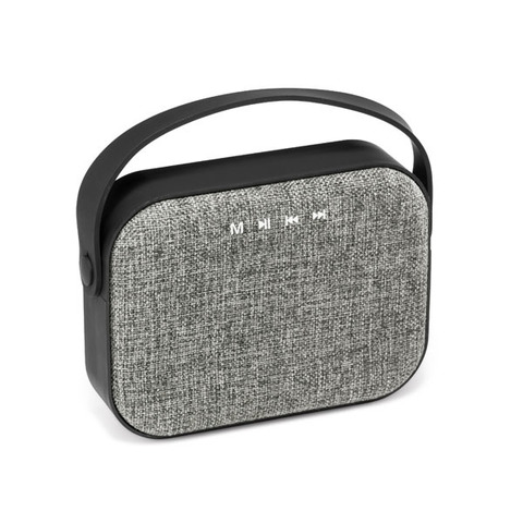 Square Bluetooth Speaker, grey with black
