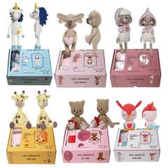 Amigurumi Kit ETROFIL - Детский набор (60% Органический хлопок, 40% Акрил)