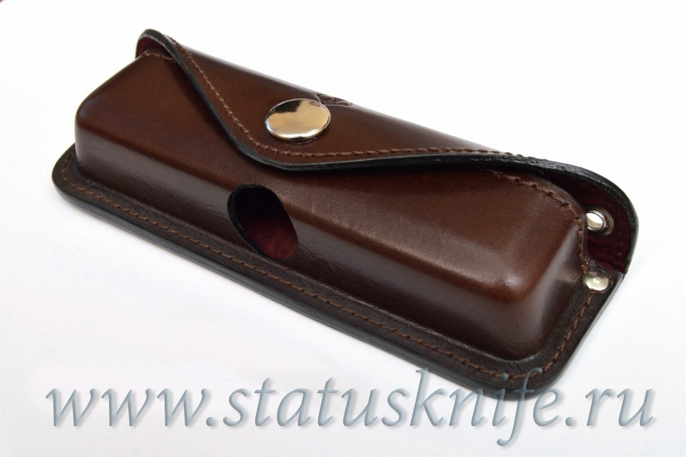 Чехол кожаный Н2 коричневый Широгоров МБШ - фотография