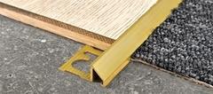 Профили/Пороги Progress Procarpet OTT PRTOL 10 для напольных покрытий из ламината, паркета, керамогранита, ковролина, линолеума