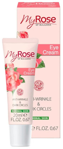 Крем для кожи вокруг глаз My Rose of Bulgaria, 20 мл.