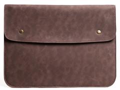 Темно-коричневый винтажный чехол Gmakin для Macbook