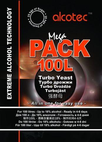 Турбо-дрожжи Alcotec MegaPack Turbo, 360 г