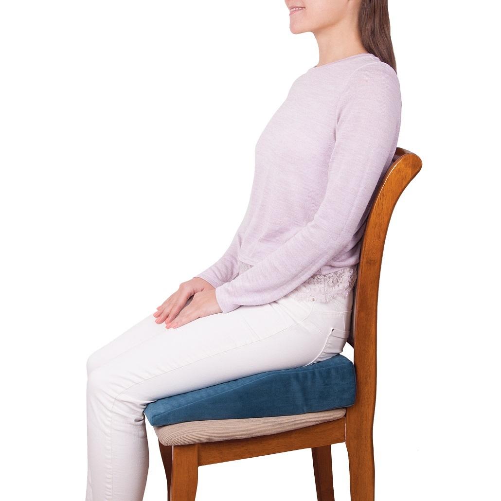 Ортопедическая подушка на сиденье