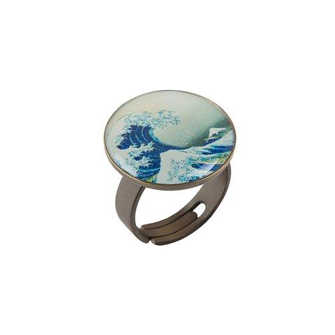 Кольцо «Большая волна в Канагаве» K78281-OLAS