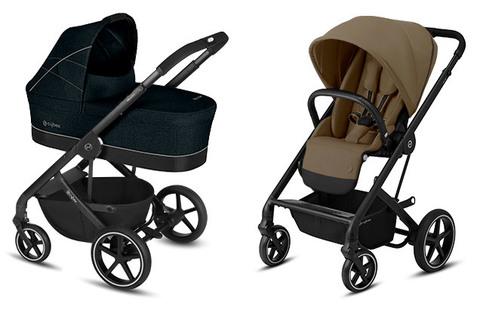 Детская коляска Cybex Balios S Lavastone Black + Balios S Lux BLK