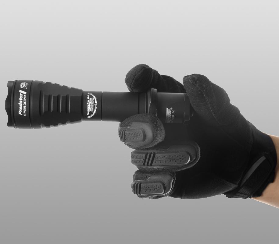 Тактический фонарь Armytek Predator (зелёный свет) - фото 3