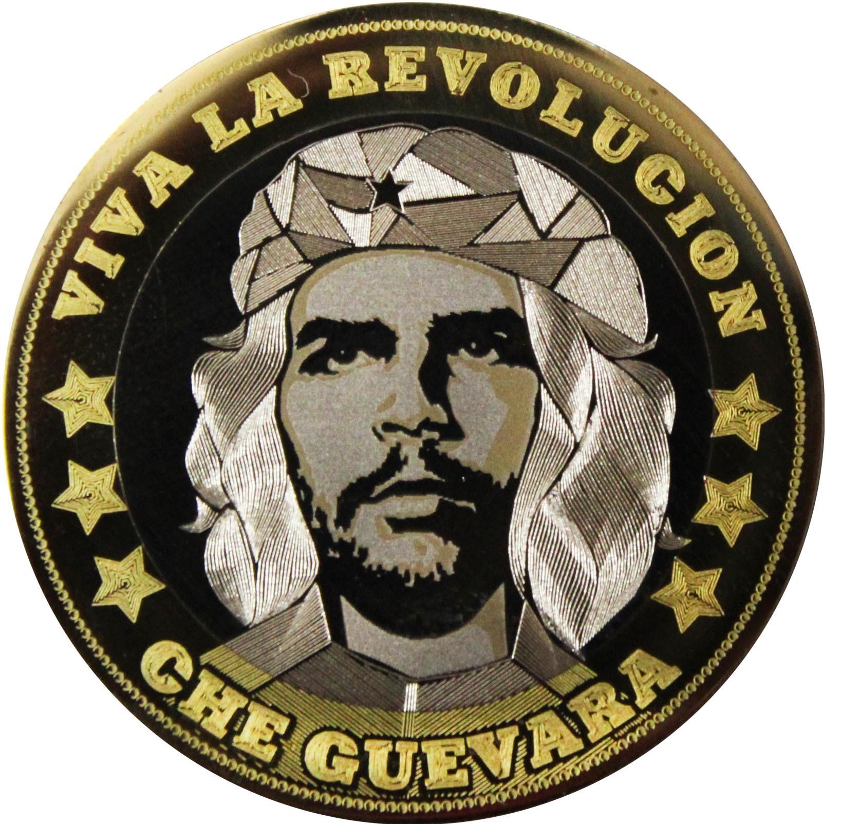 Че Гевара. Гравированная монета 10 рублей
