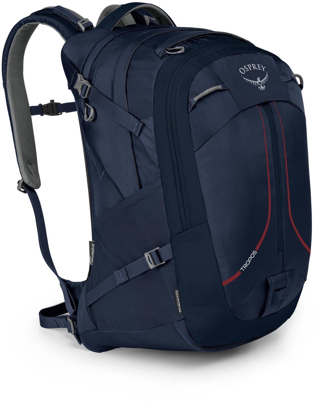 Городские рюкзаки Рюкзак Osprey Tropos 32 Cardinal Blue Tropos_32_F18_Side_Cardinal_Blue_web.jpg