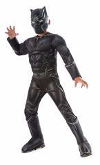 Костюм Черной Пантеры Deluxe со светящейся маской