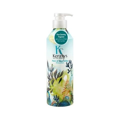 Кондиционер для сухих и ломких волос KeraSys Pure & Charming Parfumed Rinse 400мл