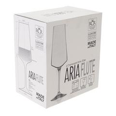 Набор фужеров для шампанского RCR Calice Aria Flute 350мл (6 шт), фото 3