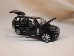 Металлическая Машина  Land Rovers черная