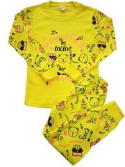 42D-2 пижама детская, желтая