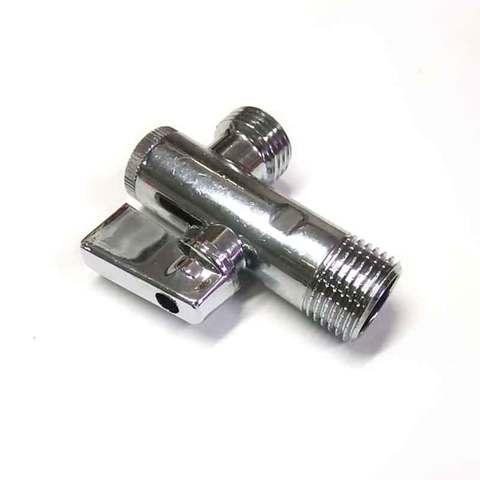 Кран шаровой угловой c фильтром 1/2 х 1/2 SD Plus