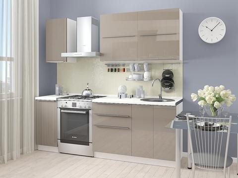Кухня Фьюжн-1 белый, cappuccino