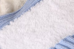 Зимний конверт-одеяло Косичка