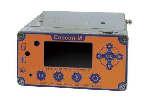 Газоанализатор Сенсон-М-3006-4 (CH4, H2S, NO,CO, Cl2) для экологического применения