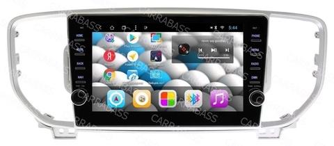 Магнитола для Kia Sportage (2016-2018) Android 8.1 2/32 IPS модель CB1043T8KR