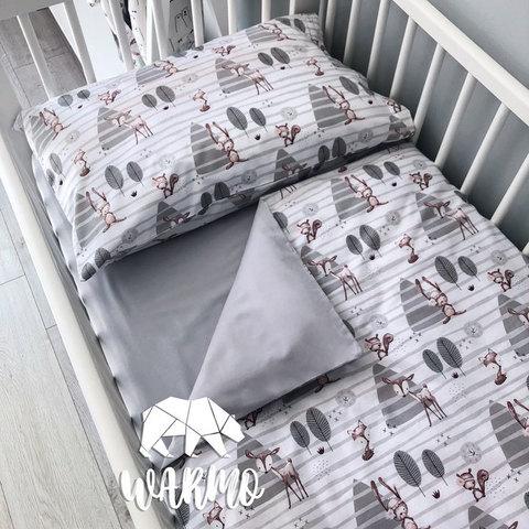 Дитяча постіль з бембі фото