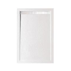 Душевой поддон WeltWasser WW TRS 10080 STONE-WT 100х80 см белый с сифоном