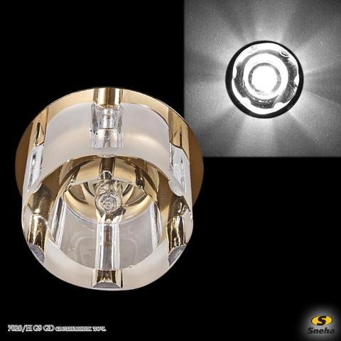 7020/H G9 GD светильник точ.