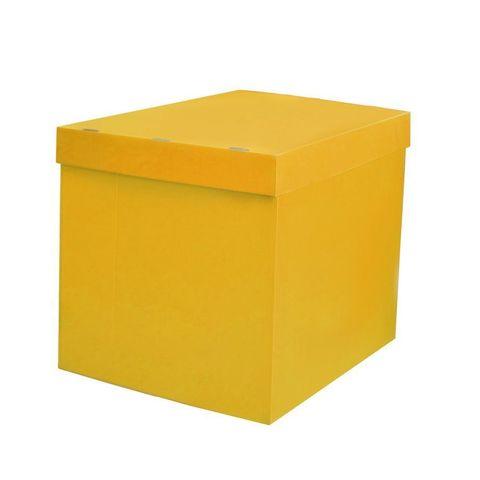 Коробка жёлтая