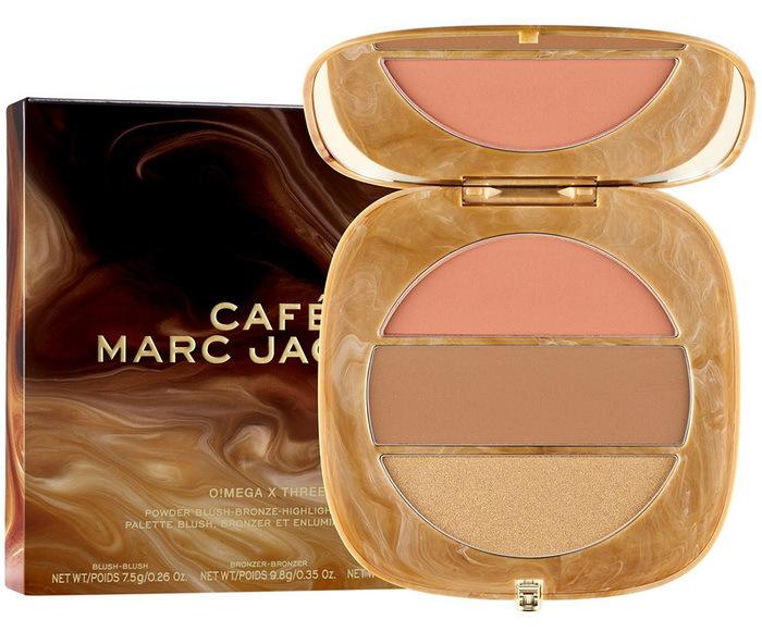 Marc Jacobs Beauty O!Mega x Three Powder Blush-Bronze-Highlight Palette Tan-tastic Glo!