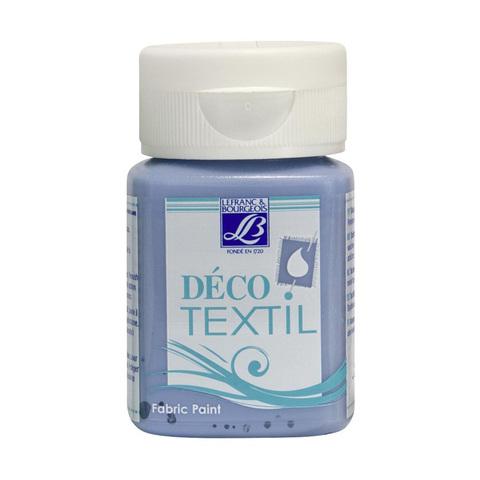 Краска по ткани Lefranc&Bourgeois DECO TEXTIL 50 мл 822, голубой океан