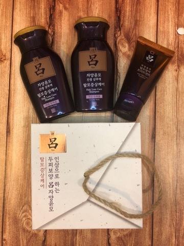 RYO набор от выпадения волос с женьшенем и маслом камелии