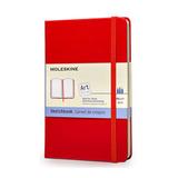 Блокнот для рисования Moleskine Classic Large красный (ARTQP063R)