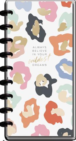 Планер Skinny Classic Happy Planner® - Colorful Leopard- датирован с июля 2021 по июнь 2022 - 14х24 см