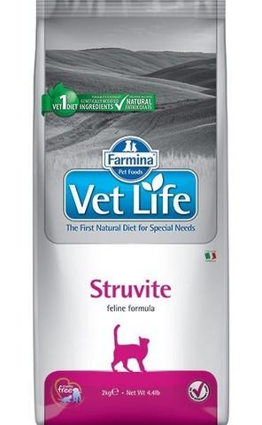 Сухой ветеринарный корм Farmina Vet Life Cat Struvite